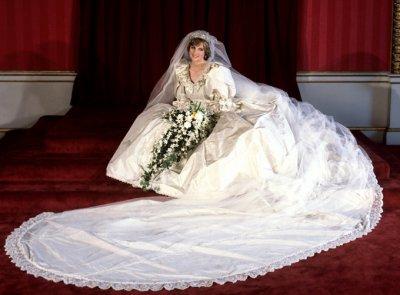 La Princesse Diana De Galles : La mariée