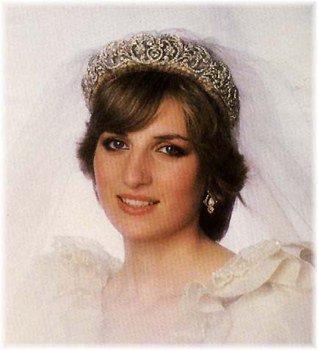 Encore la Princesse Diana le jour de son mariage
