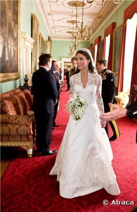 La mariée Kate