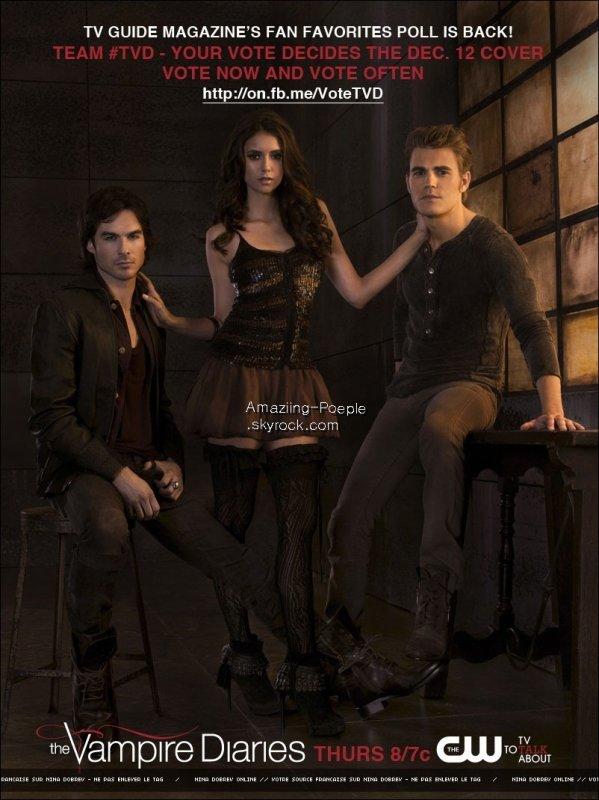 28.1O.11 :  Voici une nouvelle photo promo pour la saison 3 de The Vampire Diaries + la vidéo promo de l'épisode 3xO8 : « Ordinary People«  Votre avis sur l'épisode 3xO7 ?