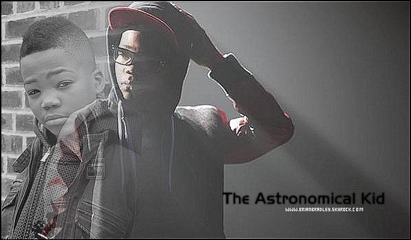 """Découvrez sur ce blog la prochaine star du rap Brian Bradley - """"The Astronomical Kid"""" !"""