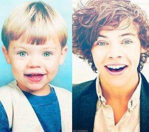 Harry maintenant/Harry petit