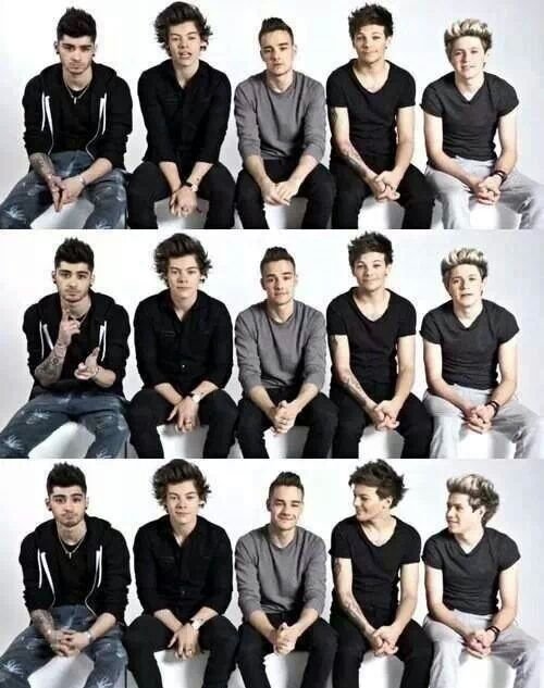 Mes héros, les One Direction♥
