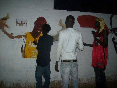 Festival international de graffiti 3éme édition senegal / nioro du rip ( du 01 au 05 avril 2011)