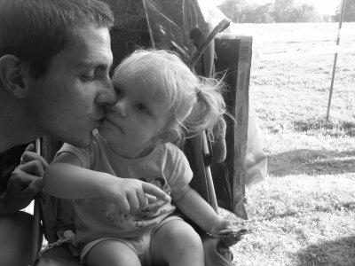 emma et son papa
