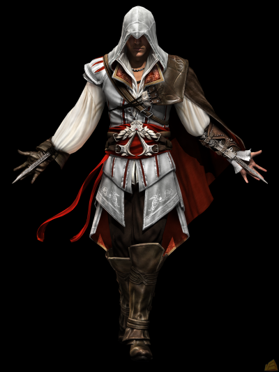 mon assassin preferer ezio auditore de fienze (de florence en italien)