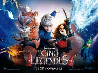 Film numéro 1 : Les cinq légendes