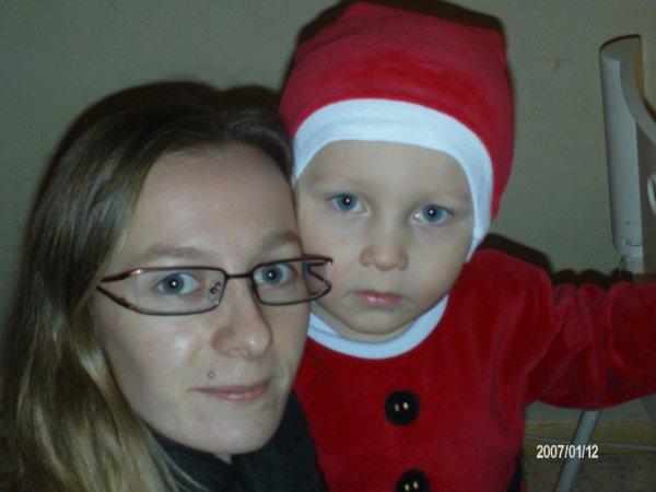 moi & mon fils je t'aime <3 :)