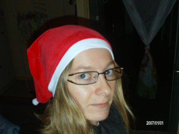 Moiiii Avec Le Bonnet De Noël De Mon Fiils ;)