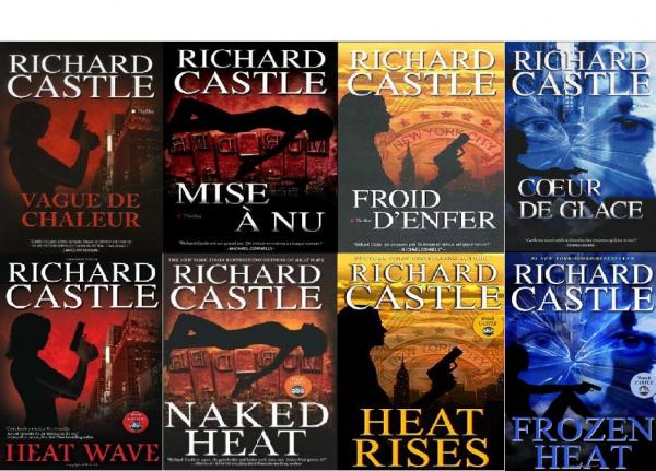 Livres de richard castle castle - Coup de chaleur wikipedia ...