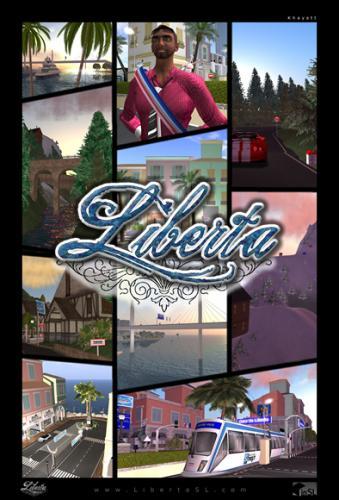 Second Life Etat virtuel Secondlife LIBERTA les sims