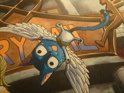 Les cinq personnages principaux de Fairy Tail !