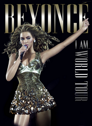 "DVD et CD ""I Am... Tour""."