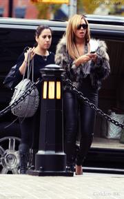 Photographiée à NYC le 18/11.