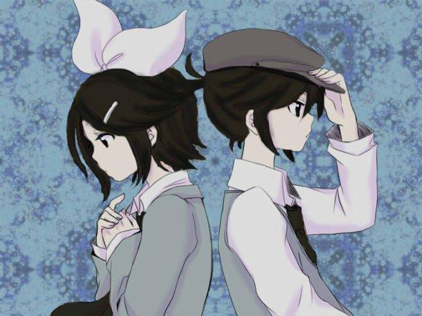 31.Fleur bleu///Change de personalité si ''elle'' deviens Len//Aurait perdue sont frere jumeaux///Gotick//N'a pas d'amie///Ermite...