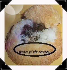 UNE PETITE GOURMANDISE AU PASSAGE :-) DES MOELLEUX COCO CHOCO