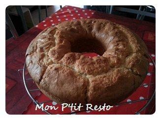 CAKE A L ANANAS façon P'tit Resto