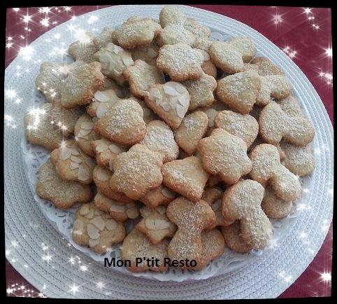 BREDELES noix de coco et anis
