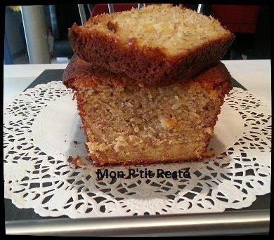 CAKE A LA RHUBARBE CARAMELISEE