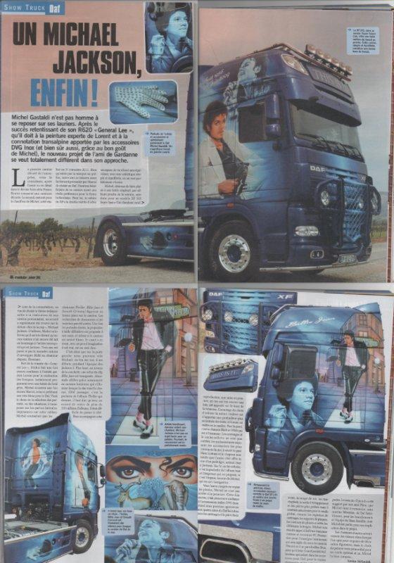camion Michael Jackson