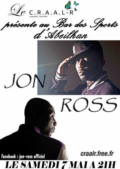 Samedi 7 mai  JON ROSS