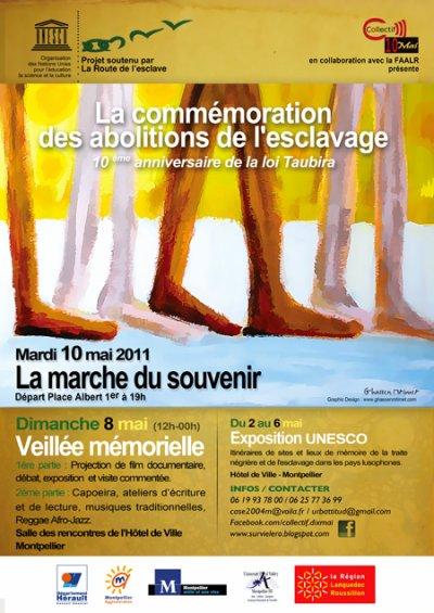 Commémoration des Abolitions de l'Esclavage