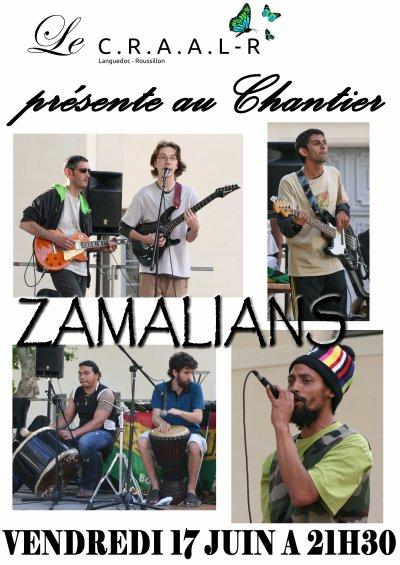 Vendredi 17 Juin  ZAMALIANS