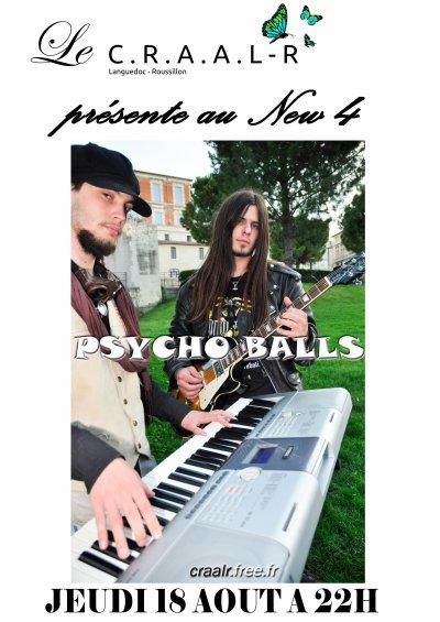 JEUDI 18 AOUT 2011 - PSYCHO BALLS