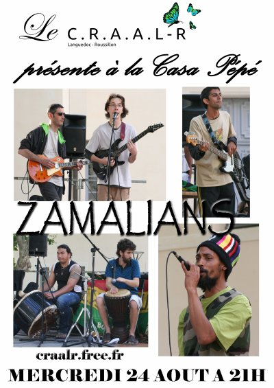 MERCREDI 24 AOUT 2011 - ZAMALIANS