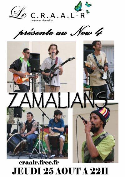 JEUDI 25 AOUT 2011 - ZAMALIANS