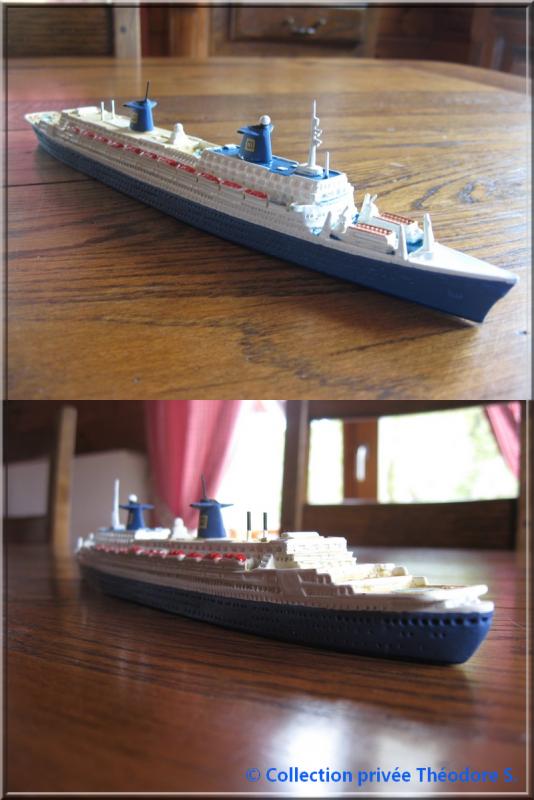 Maquette du NORWAY au 1/1250 HEIN MÜCK