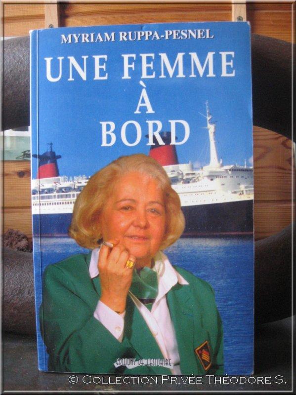 Livre : Une femme à bord