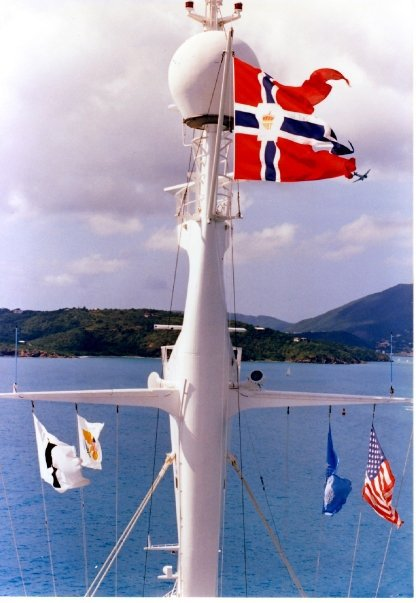 POST Flag S/S NORWAY