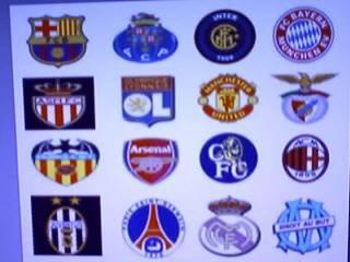 qui  il est Las  meilleures equipes européenne ?