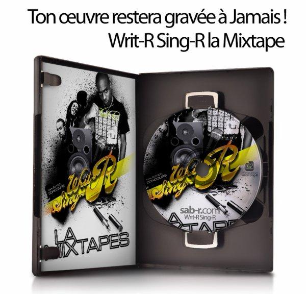 Writ-R Sing-R la mixtape DVD