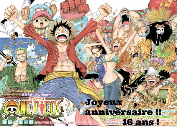 Bon anniversaire ONE PIECE !!