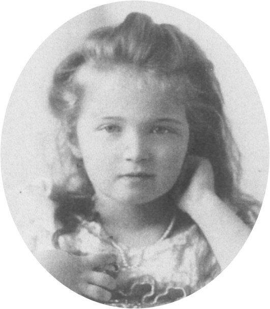 Olga vers 1900