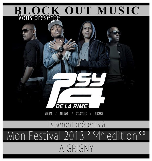 mon festival block out music