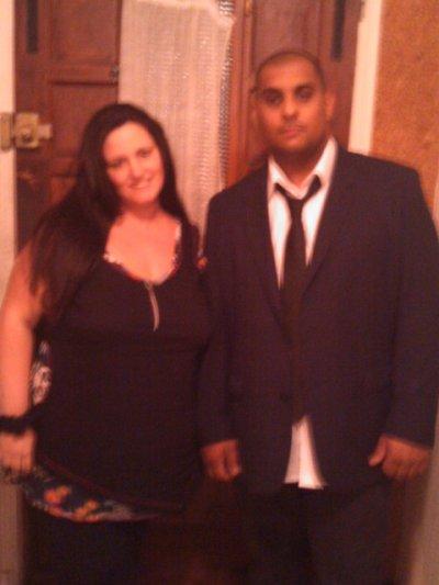 moi et David a noël 2010