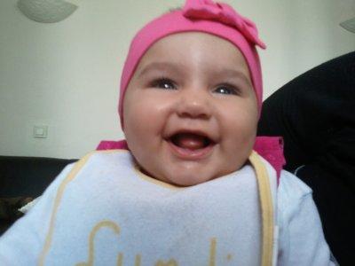 ma fille a 4 mois et demi