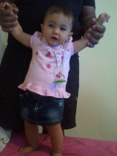 Cynthiana ma poupée pour ses 8 mois
