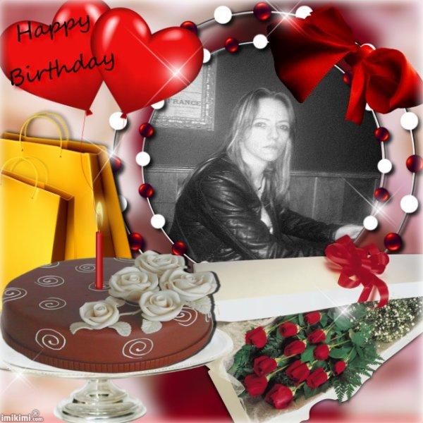Bon anniversaire à mes amies.