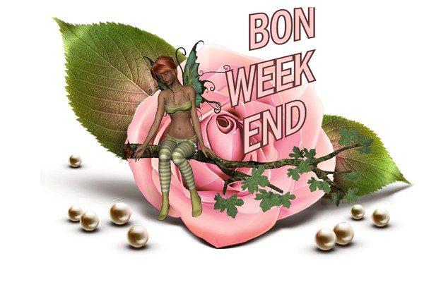 Bon Weekend.