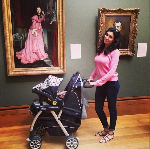 Daniela avec Baby chou