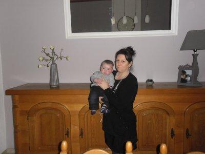 Louis et sa mamy