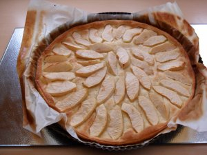 Tarte aux pommes super simple !!!