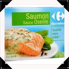 Tagiatelle au saumon sauce oseille super facile