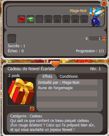Tuto Mage # 4 : Fabrication de Cadeaux