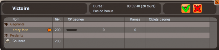 La domination du PvP (Krazy)