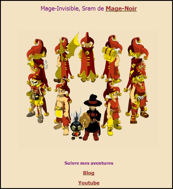 Tuto Mage # 13 : Personnaliser sa Page Perso